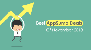 Best AppSumo Deals of November 2018