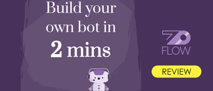 ZoFlow Review: Build Your Own Conversational Bot in Minutes