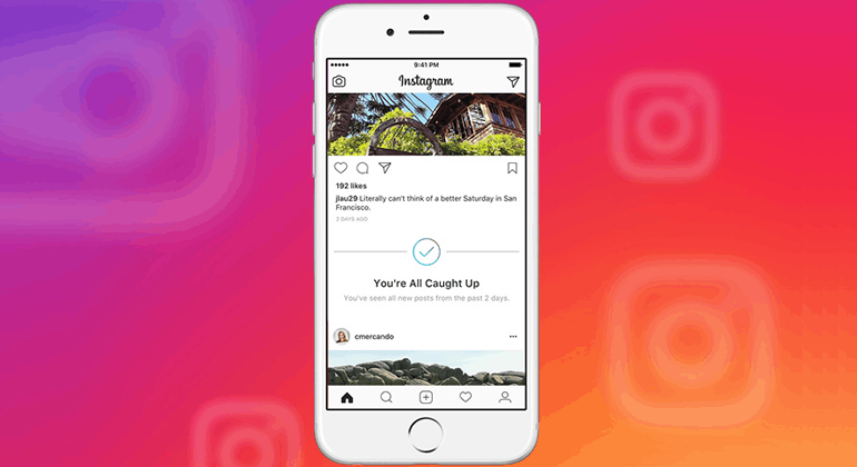 Instagram Introduces New 'You're All Caught Up' Feature