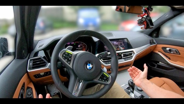 bmw assisted driving test
