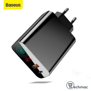 Baseus Speed PPS 45W Intelligent Power-off Digital Display Quick Charger Price In Pakistan