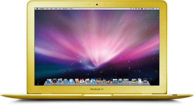 MacBook Air Goud