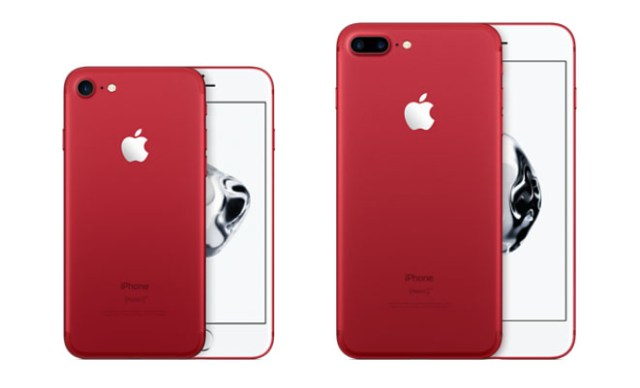 iPhone 7 Plus Rood