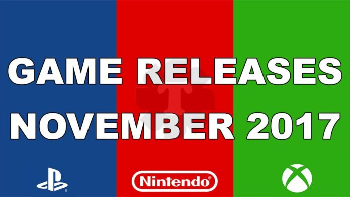 Game releases november 2017
