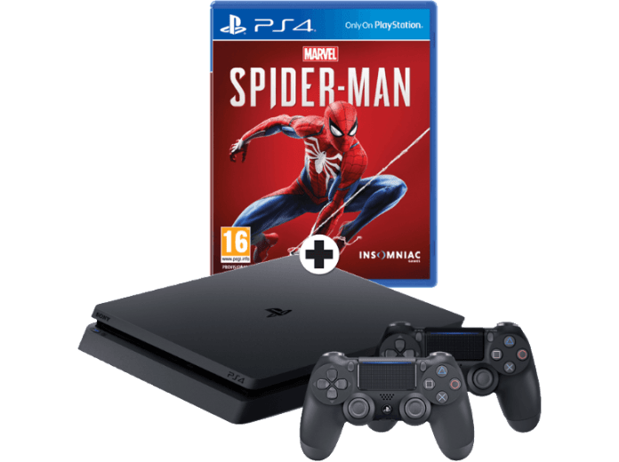 PS4 Slim Spider-Man bundel