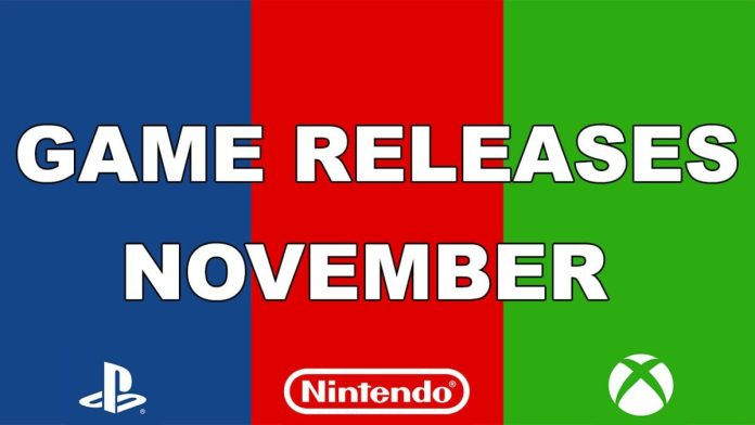 Game releases november 2018
