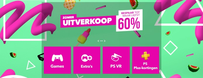 PlayStation Store zomeruitverkoop van start gegaan - Techmania