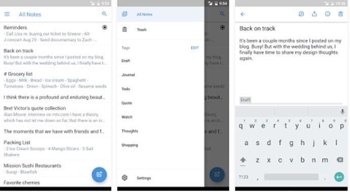 The 10 Best Notepad App for Android Smartphones and
