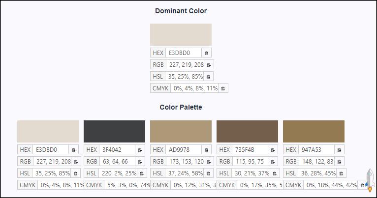 Image Color Picker圖片顏色擷取器3 | Techmarks劃重點