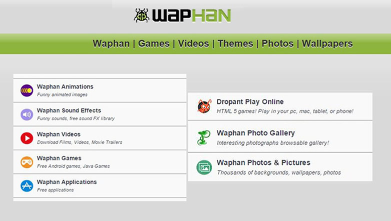 www.waphan.com – How to Download Free Apps | Games | mp3| Video