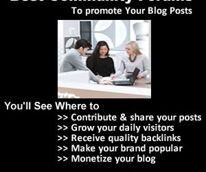 6 Best Community discussion Forums to share your posts