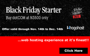 Whogohost Black Friday Offers