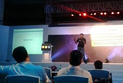 Bhavin Turakia in a Talk at RC Hosting Summit Day 1