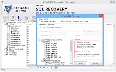5 SQL Recovery Software: An Ultimate Tool For SQL Database Recovery SQL Recovery