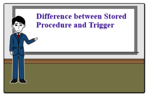 Difference between Stored Procedure and Trigger Difference between Stored Procedure and Trigger Imp SQL Differences