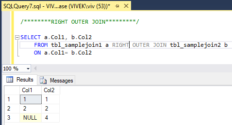 RightOuterJoin 0 SQL Joins Tricky Interview Questions