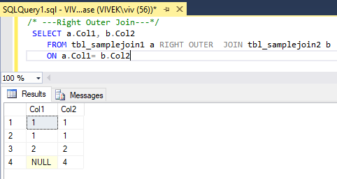 RightOuterJoin 1 SQL Joins Tricky Interview Questions