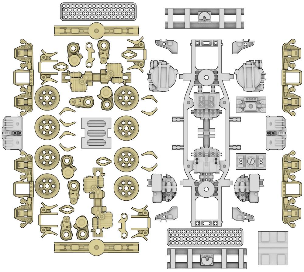 medium resolution of 3d printed bits