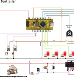 dc motor motion sequence controller circuit diagram [ 3371 x 1861 Pixel ]