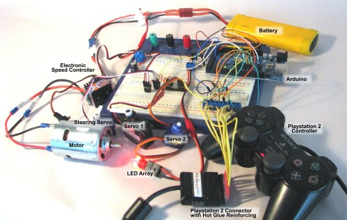 small resolution of the components on a breadboard