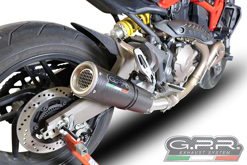 gpr m3 carbon slip on exhaust with