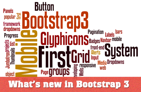 What's new in Bootrap 3