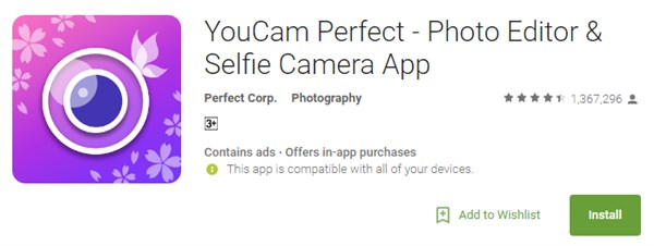 Best-android-camera-apps-editing-selfie-videos-youcam-perfect
