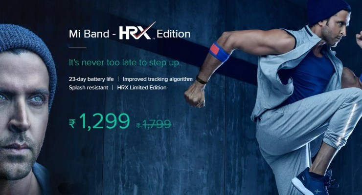Xiaomi Mi Band HRX Edition Launched in INDIA | 23-Day Battery Life @1299 Price & Specifications