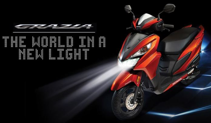 honda grazia cost price specifications