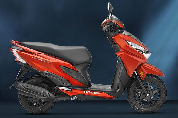 hond grazia price cost specifications mileage india