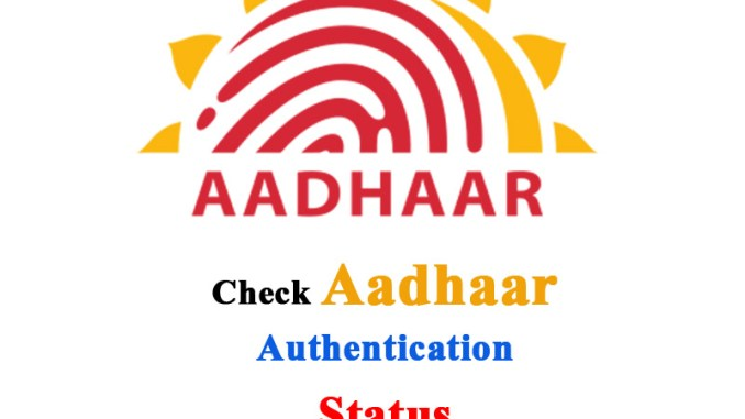 Analyse Aadhaar Authentication History form Online