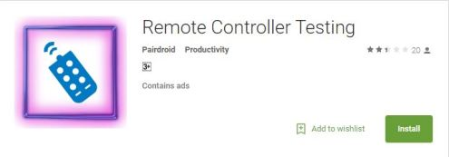 remote controller test best android apps
