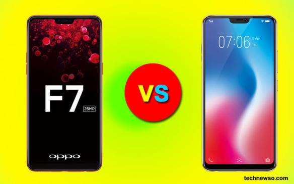 Oppo F7 vs Vivo V9 – Price & Full Specifications[Updated] – India