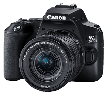 canon EOS 200D II specifications
