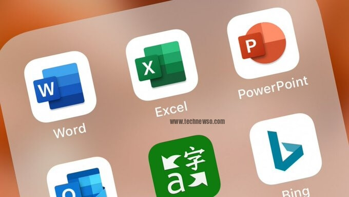 All in one Microsoft Office app Word Excel PowerPoint more