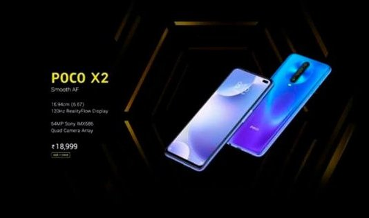 poco x2 smartphone price specifications
