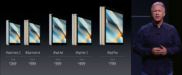 Phil Schiller iPad family