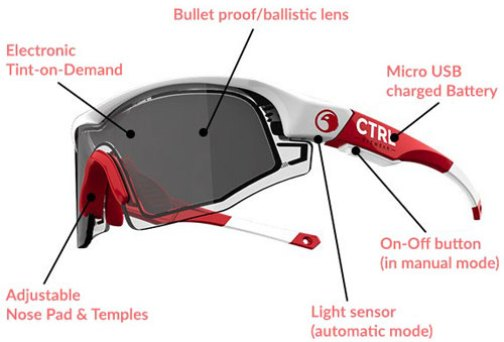 CTRL ONE Tint Changing Sunglasses