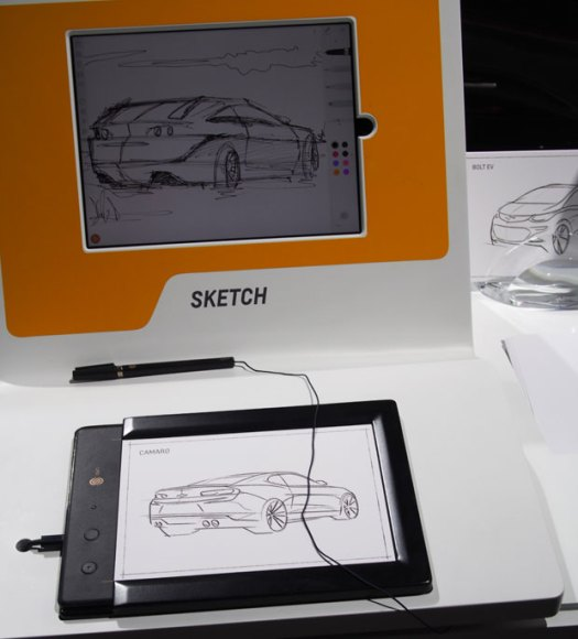 GM's DesignStudio presentation at NAIAS Detroit