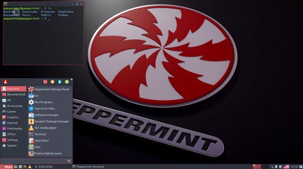 Peppermint 9 Whisker menu