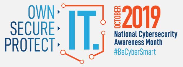 Octombrie 2019 este luna națională de sensibilizare a cibersecurității #BeCyberSmart