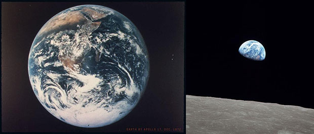 The two most famous pictures of Earth
