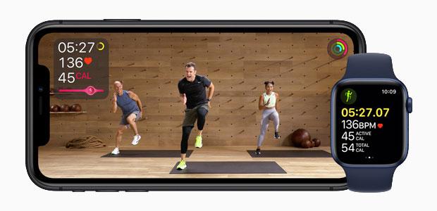 Antrenori Apple Fitness +