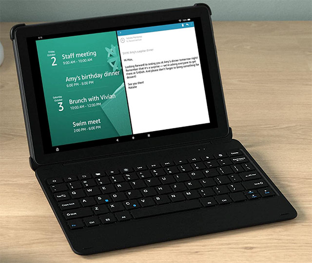Amazon's Fire HD 10 Plus With Keyboard and Microsoft 365