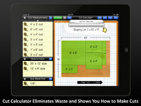 Cut Calculator Lets You Rip Away Without Sweating Bullets
