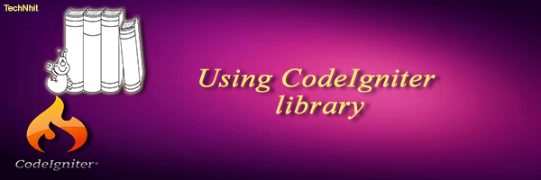 CodeIgniter library