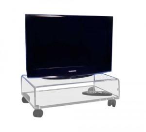 table tv plexiglas commandez sur