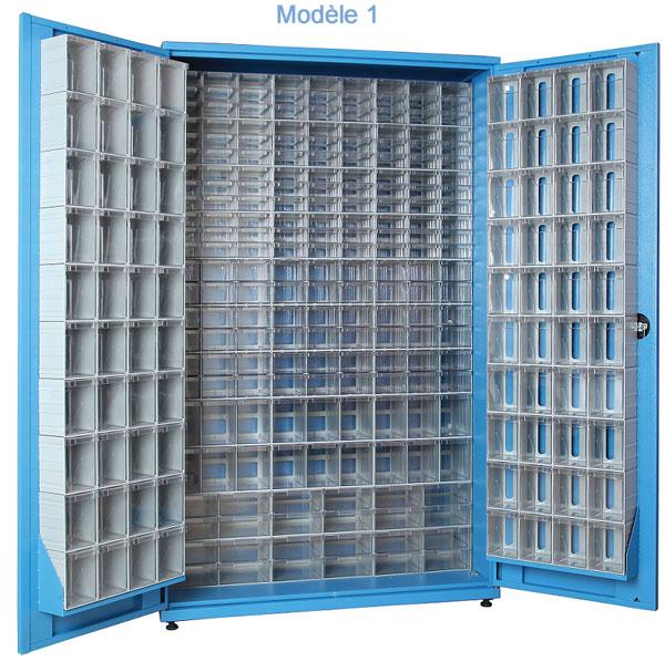 armoire a tiroirs plastique avec portes