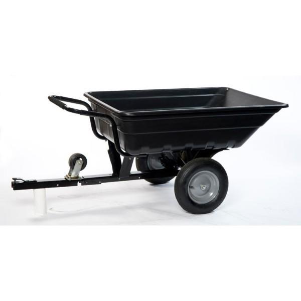 TURFMASTERRemorque  Brouette  BasculantePCT250 Jardinage Remorques Tracteur tondeuse