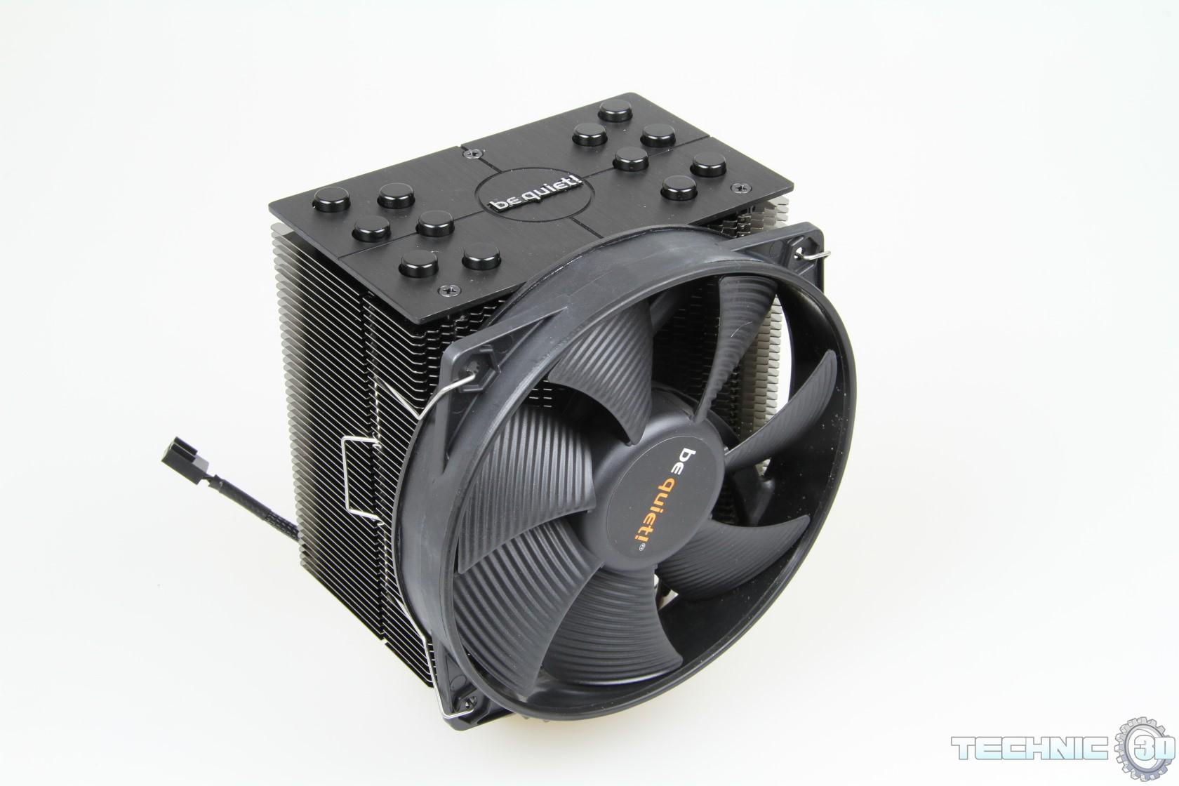be quiet! Dark Rock 2 CPU-Kühler | Review | Technic3D